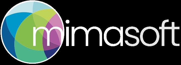 MIMasoft logo white